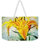 Yellow Easter Lily Weekender Tote Bag