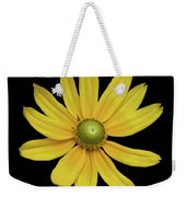Yellow Eyed Daisy In Black Weekender Tote Bag