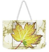 Yellow Fall Weekender Tote Bag