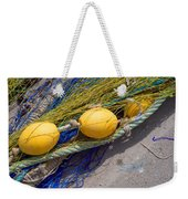 Yellow Floats Weekender Tote Bag