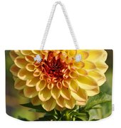Yellow Flora Weekender Tote Bag