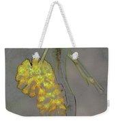 Yellow Flower Art Weekender Tote Bag