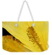 Yellow Flower - Hibiscus Shadow - Sharon Cummings Weekender Tote Bag