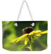 Yellow Flower In Sunlight Weekender Tote Bag