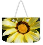 Yellow Flower In The Sun Weekender Tote Bag