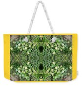 Yellow Flower Mandala 1 Weekender Tote Bag