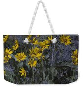 Yellow Flowers Weekender Tote Bag