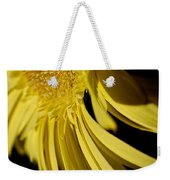 Yellow Gerbera Daisy By Kaye Menner Weekender Tote Bag