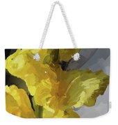 Yellow Glad 092217 1a Weekender Tote Bag