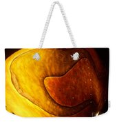 Yellow Glass Abstract Weekender Tote Bag