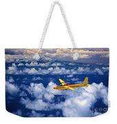 Yellow Glider Weekender Tote Bag