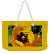 Yellow Glory From A Tulip Weekender Tote Bag