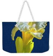 Yellow Glue Blue #f9 Weekender Tote Bag