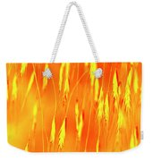 Yellow Grass Spikes Weekender Tote Bag