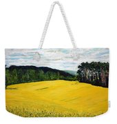 Yellow Ground Weekender Tote Bag