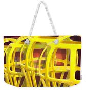 Yellow Guard Weekender Tote Bag