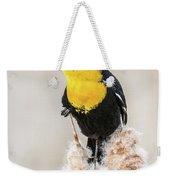 Yellow Headed Blackbird #4 Weekender Tote Bag