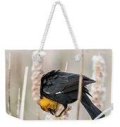 Yellow Headed Blackbird #7 Weekender Tote Bag