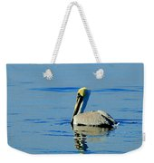Yellow Headed Pelican Weekender Tote Bag
