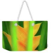 Yellow Heliconia - Tropical Hawaii - 957 Weekender Tote Bag