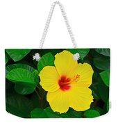 Yellow Hibiscus 3388 Weekender Tote Bag