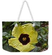 Yellow Hibiscus F134 Weekender Tote Bag