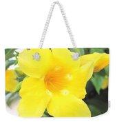 Yellow Hibiscus St Kitts Weekender Tote Bag