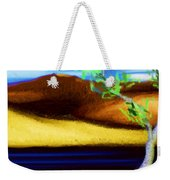 Yellow Hills Revisited Weekender Tote Bag