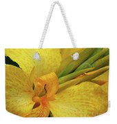 Yellow In The Morning Weekender Tote Bag
