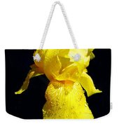 Yellow Iris After The Rain Weekender Tote Bag