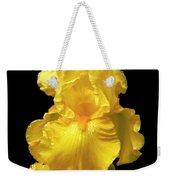 Yellow Iris Flower Still Life Weekender Tote Bag