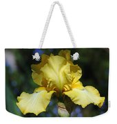 Yellow Iris Is For Passion Weekender Tote Bag