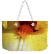 Yellow Iris Secret Weekender Tote Bag