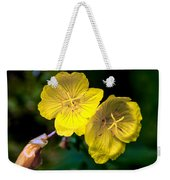 Yellow Is Gold Among The Flowers Weekender Tote Bag