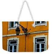 Yellow Italian Building Weekender Tote Bag