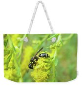 Yellow Jacket Weekender Tote Bag