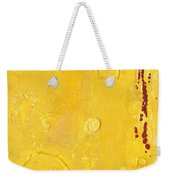 Yellow Weekender Tote Bag
