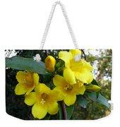 Yellow Jasmine Weekender Tote Bag