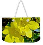 Yellow Jessamine At Pilgrim Place In Claremont-california Weekender Tote Bag