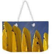 Yellow Kayaks Weekender Tote Bag