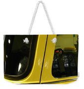 Yellow Lady Abstract Weekender Tote Bag