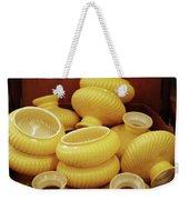 Yellow Lampshades Weekender Tote Bag