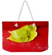 Yellow Leaves Weekender Tote Bag