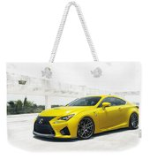 Yellow Lexus4 Weekender Tote Bag