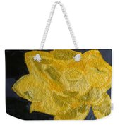Yellow Lilac On The Pond Weekender Tote Bag