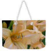 Yellow Lilly Weekender Tote Bag