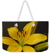 Yellow Lily 1 Weekender Tote Bag