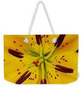 Yellow Lily Weekender Tote Bag