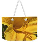 Yellow Lily Shines Brightly  Weekender Tote Bag
