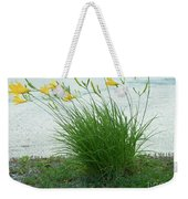 Yellow Love  Photography By Connie J Lee Weekender Tote Bag